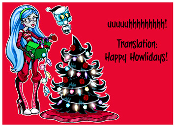 Season's Greetings from Ghoulia