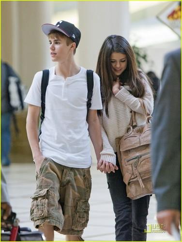 Selena Gomez & Justin Bieber: Hawaii plage jour