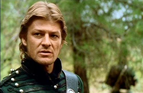 Sean Bean wallpaper probably with a rifleman titled Sharpe's Siege