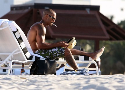 Shemar Moore wallpaper titled Shemar Moore in Miami