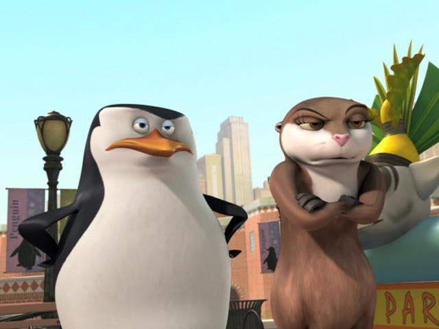 Порнол видео пингвины мадагаскара шкипер трахает марлин