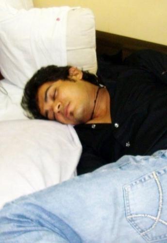 Sleeping handsome !!!!