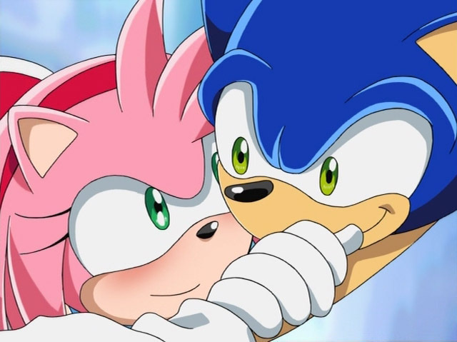 x rose and sonic Sonic amy