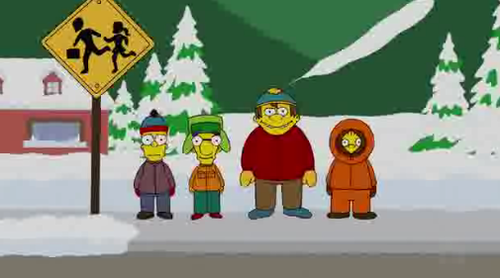 South Park on Simpsons