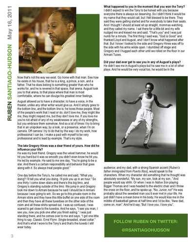 Stana Katic interviews Ruben Santiago - Hudson