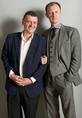 Steve Moffat and Mark Gatiss