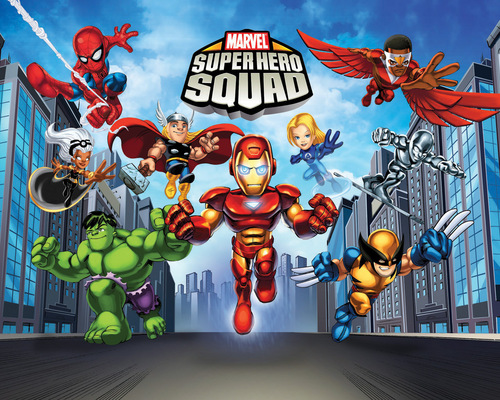Super Hero Squad Show - cartoon-fanatics Wallpaper