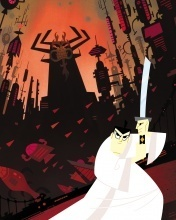 Samurai Jack kertas dinding containing Anime called THE GREAT SAMURAI