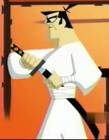 Samurai Jack kertas dinding called THE GREAT SAMURAI