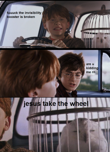 Take the wheel!