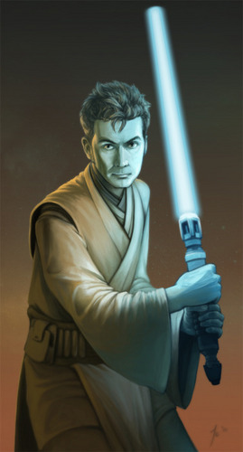 Ten as a Jedi {fan art}