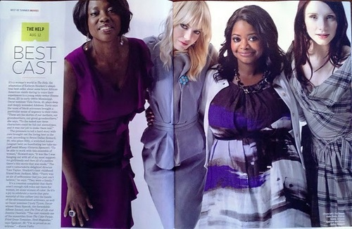 The Cast From 'The Help' In 'EW'