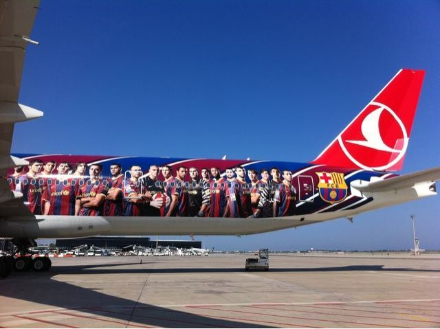 The plane that was supposed to take the players to London