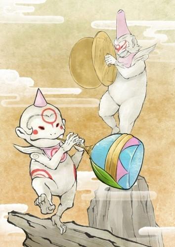 Tsutagami & Child