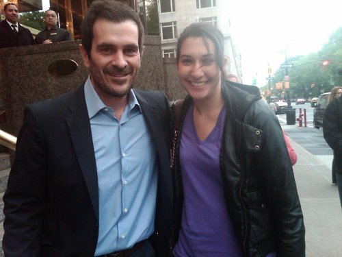 Ty Burrell with ファン