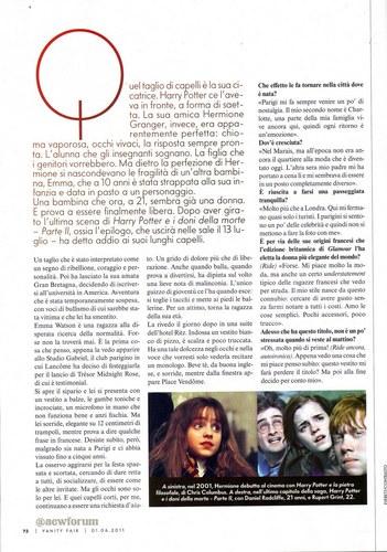 Vanity Fair [Italian] 2011