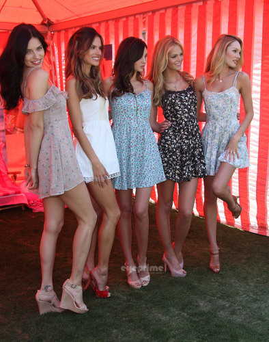 Victoria's Secret Bombshells Kick Off in Hollywood