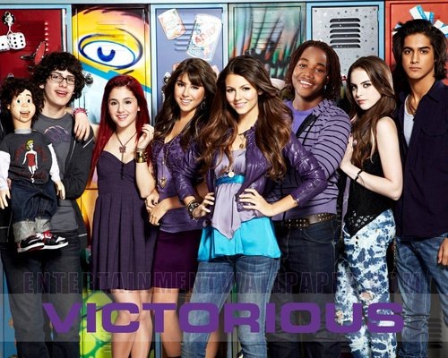 Victorious wallpaper possibly with a portrait called Victorious
