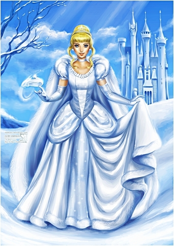 Walt Disney Fan Art - Cinderella