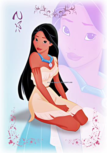 Walt disney fan Art - Princess Of Heart-Pocahontas