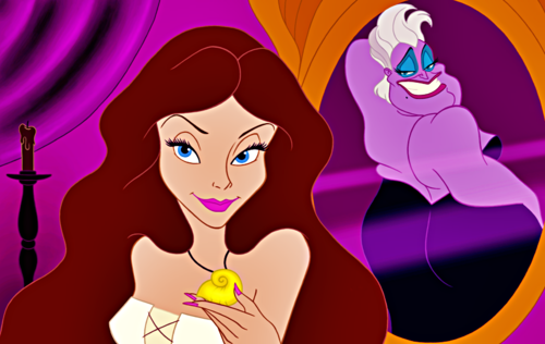 ... Disney Fan Art - Vanessa & Ursula HD wallpaper and background photos