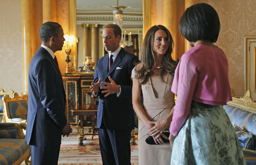 William and Kate; Meet the President and First Lady