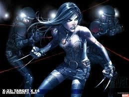 X-23 wallpaper with a breastplate, an armor plate, and a brigandine called X-23