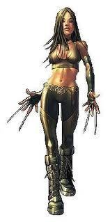 X-23 wallpaper possibly containing a hip boot, a rifleman, and a surcoat called X-23