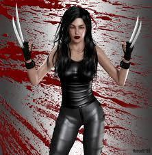 X-23 wallpaper probably with hosiery, bare legs, and a hip boot called X-23