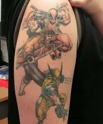 X-men Татуировки