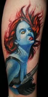 X-men टैटू