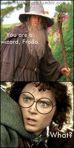 You're a wizard, Frodo?
