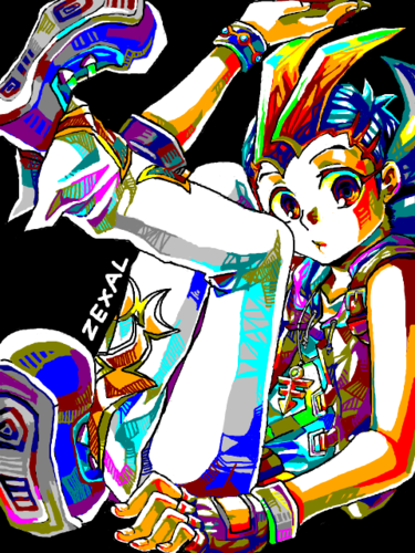 Yu-Gi-Oh Zexal wallpaper entitled Yugioh Zexal