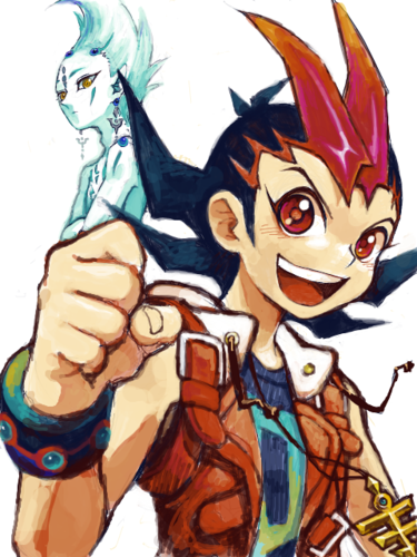 Yu-Gi-Oh Zexal wallpaper with anime entitled Yugioh Zexal