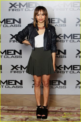 Zoe Kravitz: 'X-Men: First Class' Londres Photocall