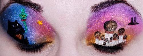 Aladdin eyes