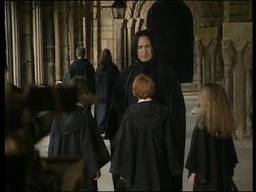 alan as snape in hp1 2001