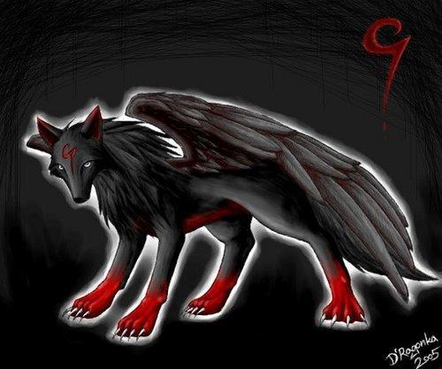 awsome wolf