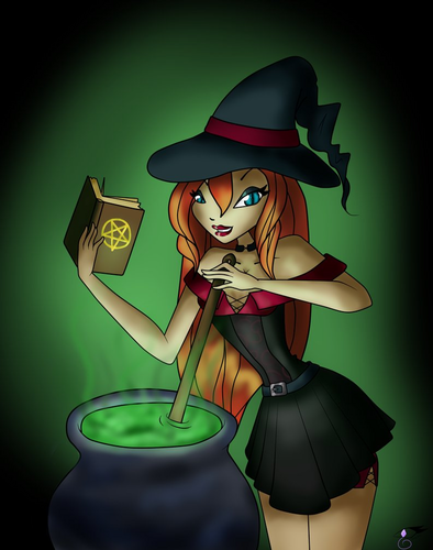 bloom the witch