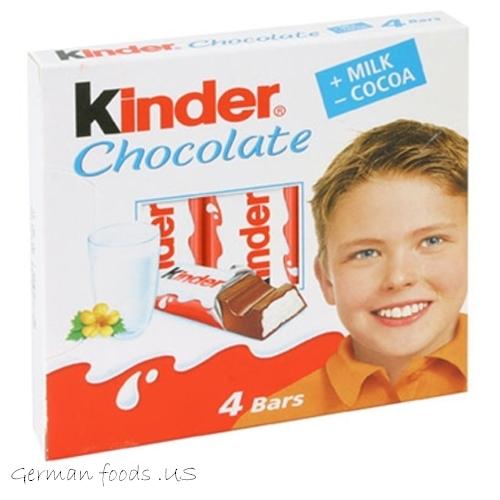 Шоколад kinder