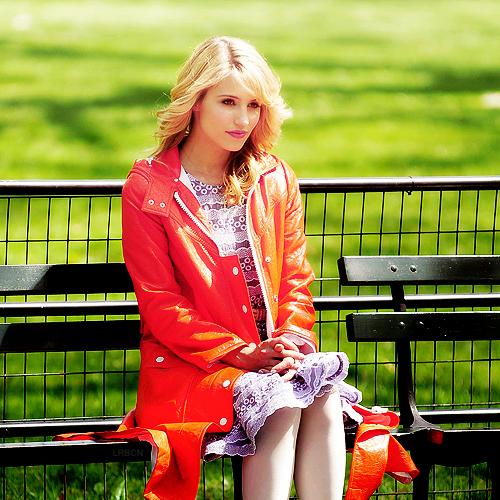 Dianna Agron wallpaper with a park bench titled dianna
