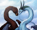 fire and ice love - dragons icon