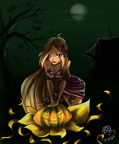 Dia das bruxas girls