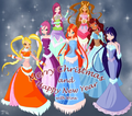happy new Jahr winx
