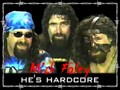 hardcore faces of foley - mick-foley photo