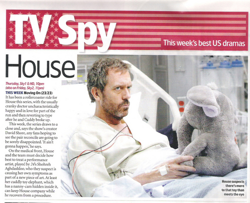 House MD in TV Guide