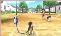 nintendog going on a walk