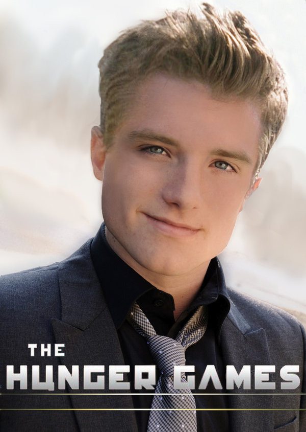 The hunger games peeta mellark