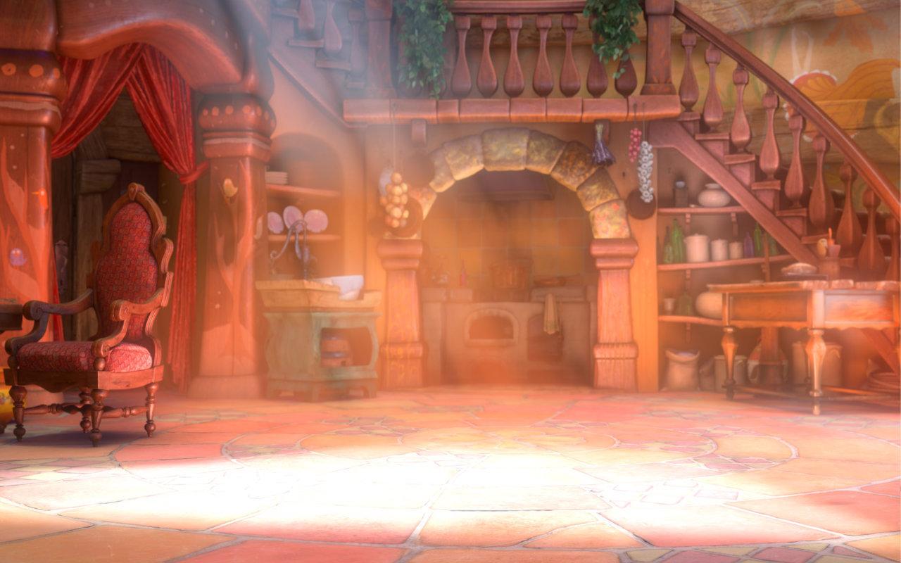 rapunzel's room
