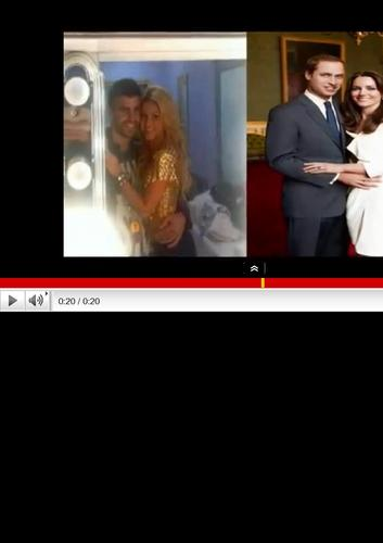 Shakira pique wedding photo...